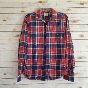 J. Crew Slim Fit Flannel Shirt